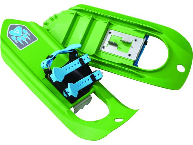 MSR Tyker Raquetas de nieve de aluminio Niños, dino green